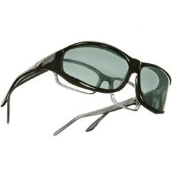 Vistana Polarized Sunwear - Black Frame with Gray Lens- Size Medium
