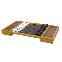 Large Table Top Chess Set for the Blind or Those With Low Vision Price: $23.95