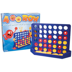 4 in a Row Game- Tactile