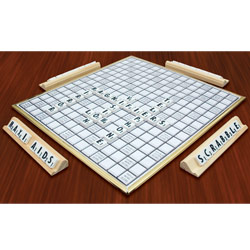 Deluxe Low Vision Scrabble Price: $39.95