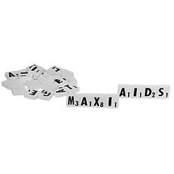 Low Vision Scrabble Tiles Price: $12.95