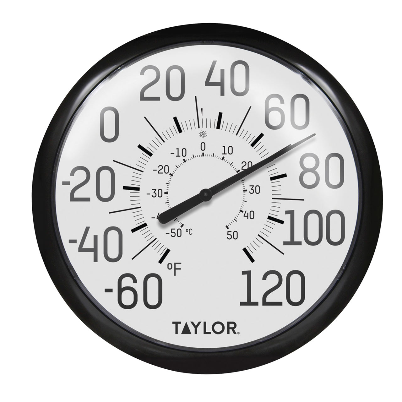 Low Vision Bold Indoor and Outdoor Thermometer