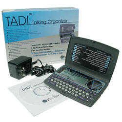 TADI Talking Voice Organizer - Spanish Price: $249.95