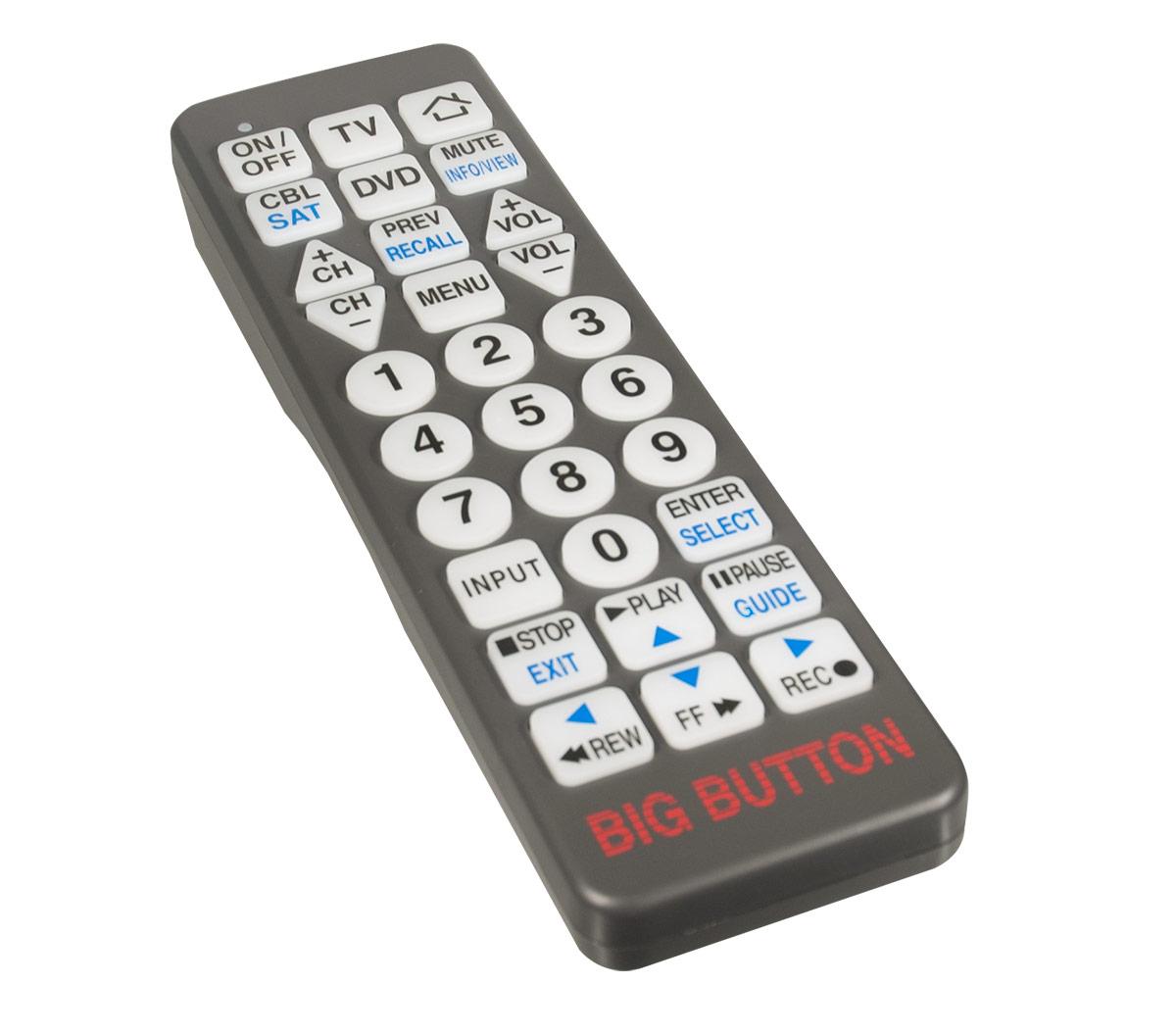 Big Button Remote Control Price: $22.95