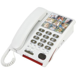 Serene 26dB Amplified Photo Dial Speakerphone for Hearing-Memory Loss