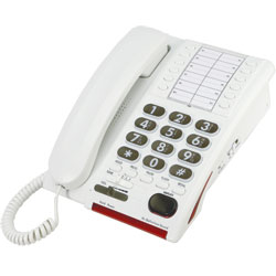 Serene 55dB Amplified Phone for the Hearing Impaired Price: $119.95