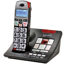 Serene Amplified Cordless Phone w/Answering Machine Price: $169.70