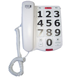 Big Button Phone with 40db Handset Volume - click to view larger image