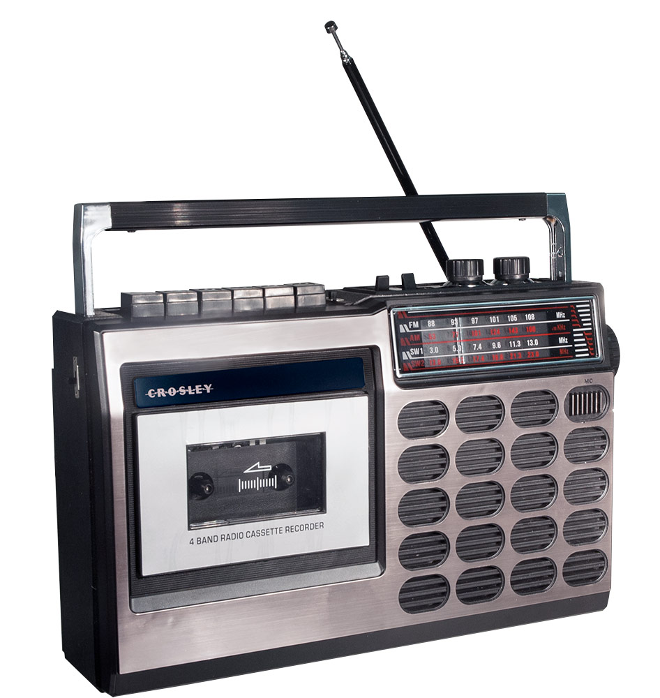 Portable Cassette Recorder and Player - Modified