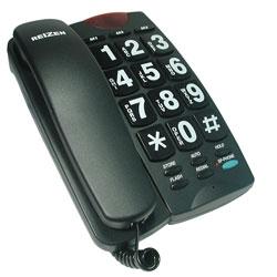 REIZEN Big Button Speaker Phone - Black and White