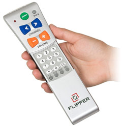 Flipper Two-Device Universal Low Vision Remote