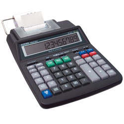 12 Digit Easy-to-Read Printing Calculator 2 Color AC/DC Price: $59.95