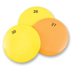 Magnetic Discs Set 1 for PenFriend 2 Voice Labeling System - 15 Labels