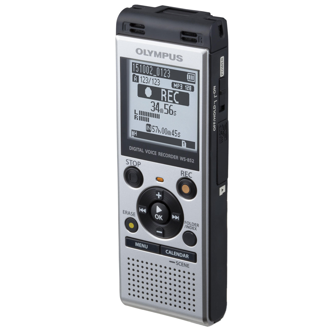 Olympus Digital Voice/MP3/WMA Recorder-Player: 2GB Price: $69.95