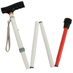Adjustable Folding Support Cane For The Blind Price: $19.95