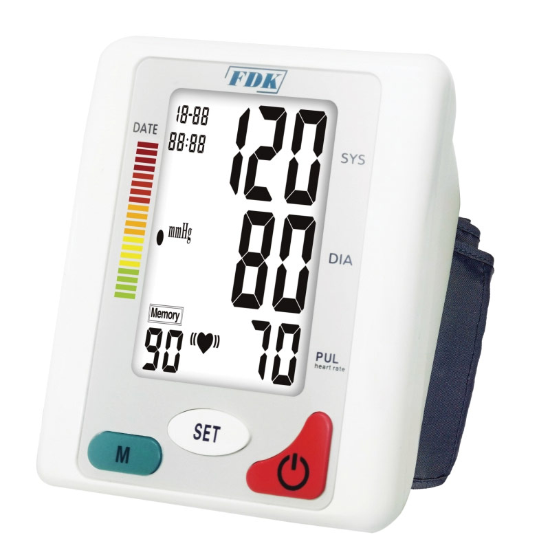 Talking Blood Pressure Monitor Arm Cuff - XL - English and Spanish