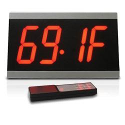 Sonic Alert Big Display Maxx Digital LED Dual Alarm Clock with Remote
