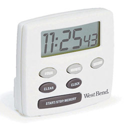 West Bend Electronic Timer Price: $14.95