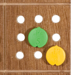 Braille Sudoku Puzzle Game with Board
