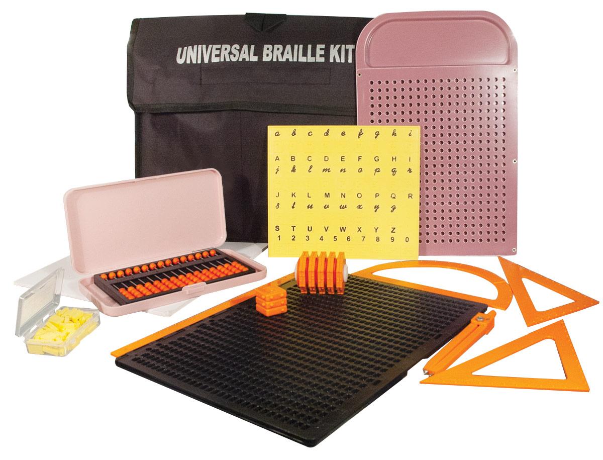 Universal Braille Kit