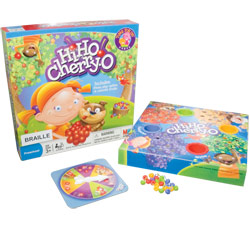 Hi Ho! Cherry-O Counting Game- Braille
