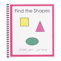 Childrens Braille Book - Shapes Price: $15.25