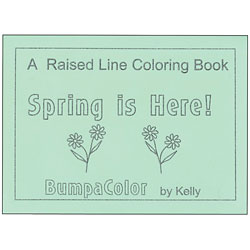 A Raised Line Coloring Book - Spring is Here! Price: $12.95