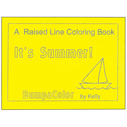 A Raised Line Coloring Book - Its Summer Price: $14.25
