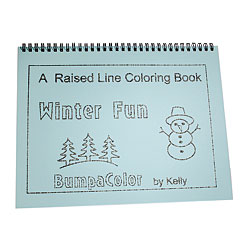 A Raised Line Coloring Book- Winter Fun Price: $12.95