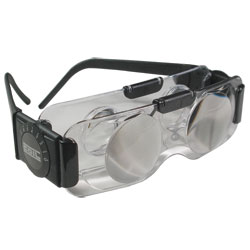 Coil 2X TV Spectacles - Ophthalmic Vision Hands-Free Binoculars - Clear Lens Price: $55.95