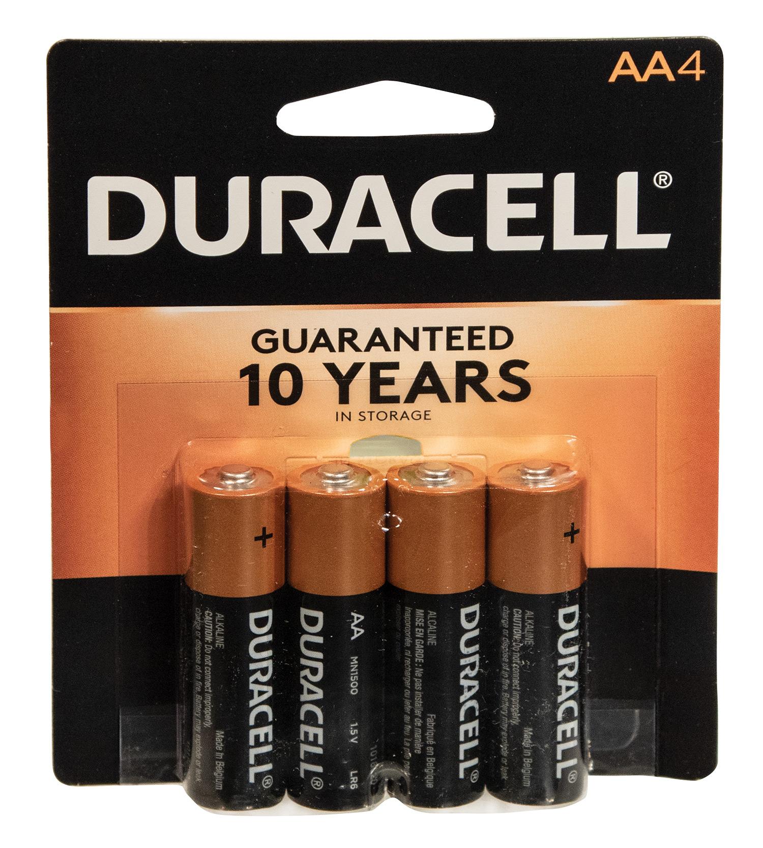 Duracell 4 AA Batteries