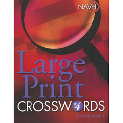 Large Print Crosswords No. 4 Price: $12.95