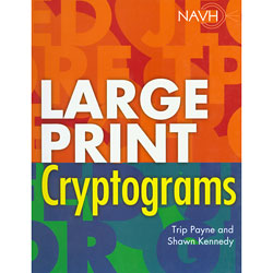 Large Print Cryptograms Price: $12.95