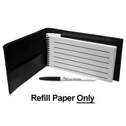 Refill for Reizen Pocket Low Vision Notebook- 25pk