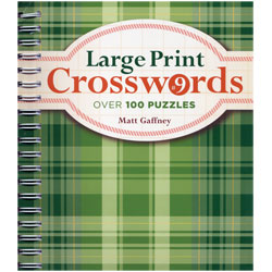 Large Print Crosswords No. 9 - click to view larger image