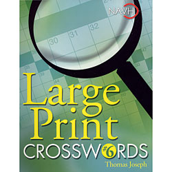 Large Print Crosswords No. 6 - click to view larger image