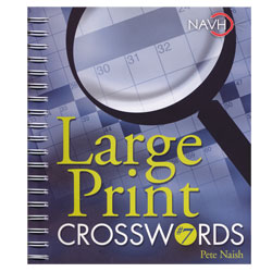 Large Print Crosswords No. 7 for Low Vision Price: $12.95