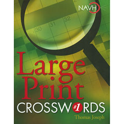 Large Print Crosswords Price: $12.95