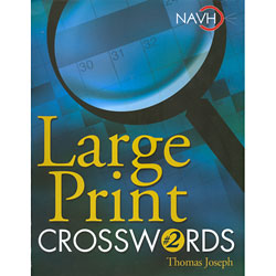 Large Print Crosswords No. 2 Price: $12.95