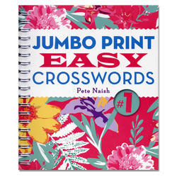 Jumbo Print Easy Crosswords No. 1