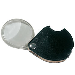 Circular Pocket Magnifier 3.5x - 50mm Price: $16.75