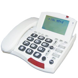 53dB Amplified Corded Speakerphone for the Hard of Hearing Price: $129.98