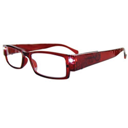 Reizen Readbrights LED Readers: Burgundy +2.50 Price: $17.95