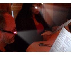 Reizen Readbrights LED Readers- Black +0.00