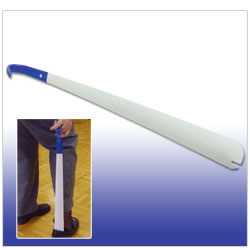 Long Shoehorn and Sock Remover with Non-Slip Handle Price: $12.95