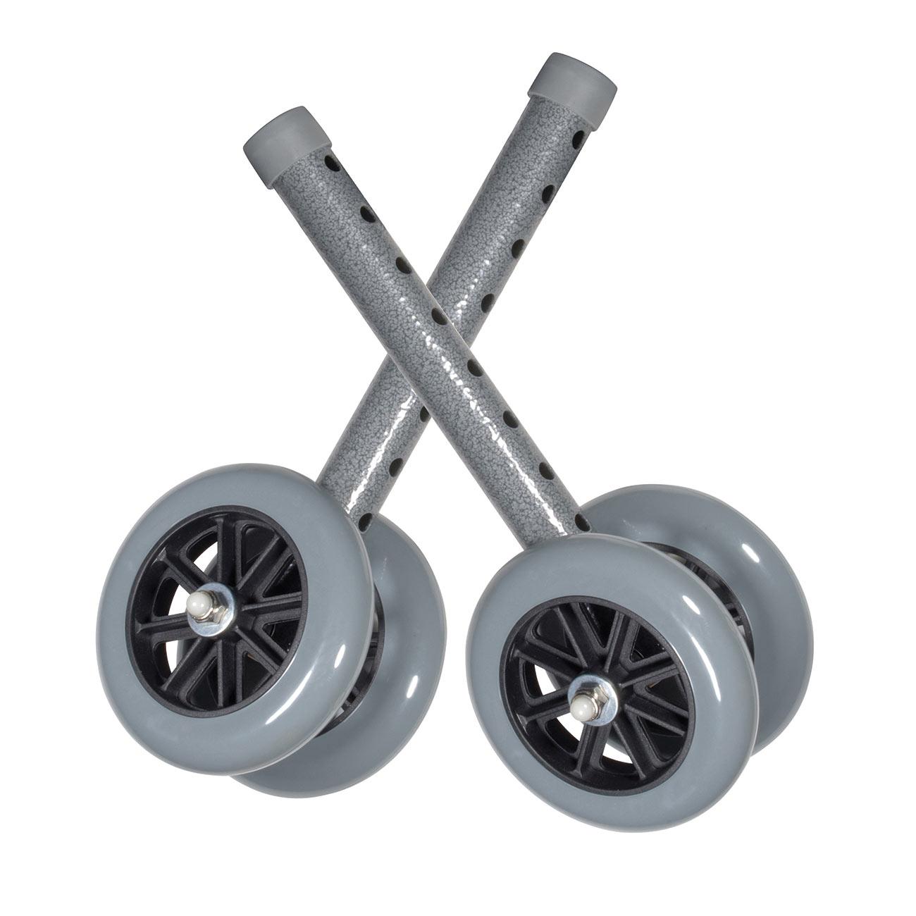 Heavy Duty Bariatric 5-inch Walker Wheels