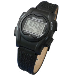 VibraLITE Mini Vibration Watch-Black Nylon Buckle Band
