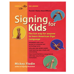 Book - Signing for Kids Price: $14.00