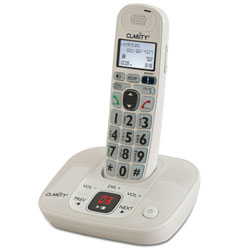 D712 30dB DECT 6.0 Amplified Low Vision Cordless Phone-Answer Machine Price: $73.95
