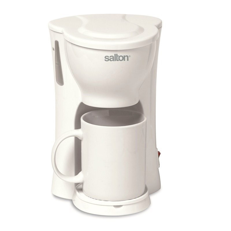 Salton 1 Cup Coffee Brewer- White